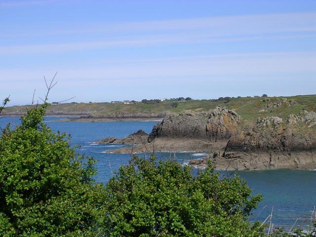 une strate sur notre littoral breton 1